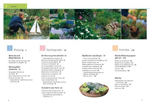 Gartenteiche anlegen und gestalten: Schritt für Schritt zum eigenen Wassergarten - Inhalt