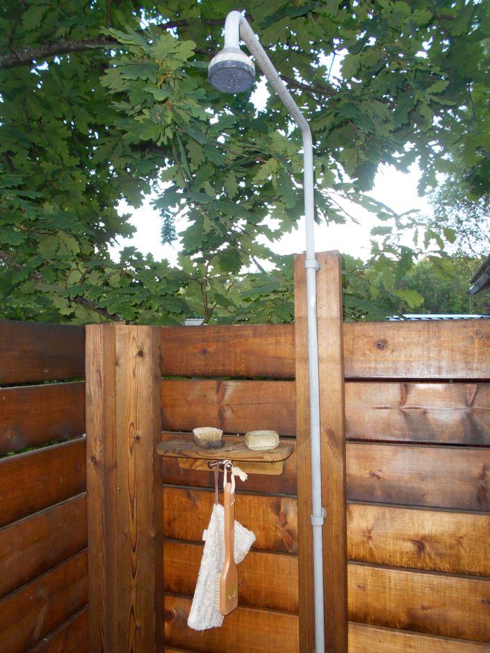 Sichtschutz Fur Die Gartendusche Www Gartendusche Net